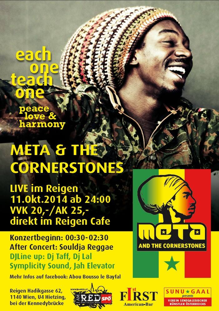 Souldja - Meta and the Cornerstones Vienna Reigen
