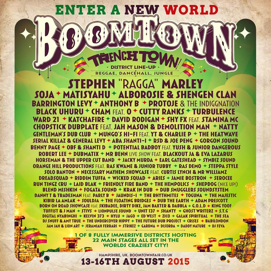Souldja Boomtown Fair Hidden Woods 2015